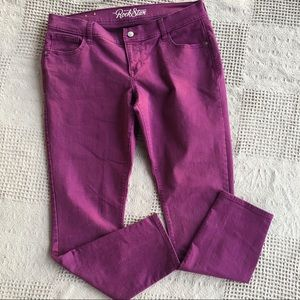 Old Navy The Rock Star Purple Stretch Pants
